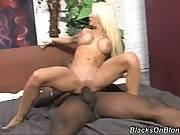 Helly Mae Hellfire. Blacks On Blondes