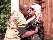 Lovely White Slut Is Truly Black Cock Hungry 2