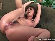Sluty Japanese Babe Gets To Big Black Dicks 2