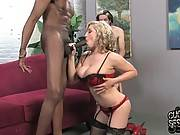 Sluty Blonde Humiliates Her Friend 4