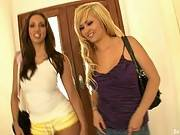 Her First Big Cock - Addi Crue & Kelly Divine