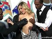 Interracial Blowbang - Lia Lor