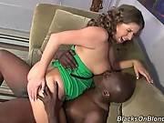 Curly Slutie Enjoys Big Black Cock 1