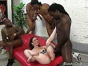 blacks on blondes - Jennifer White