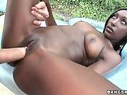 White Dude Fucks Ebony Slutie 3