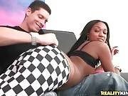 Tyler Steel Enjoys The View Of Lola`s Juicy Brown Booty 1