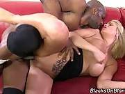 blacks on blondes - Jessica Nyx
