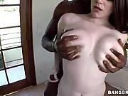 Big tits meet a big black dick. Tessa Lane