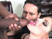 Nasty Cutie Prefers Big Black Cock 2