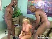 blacks on blondes - Heidi Hollywood